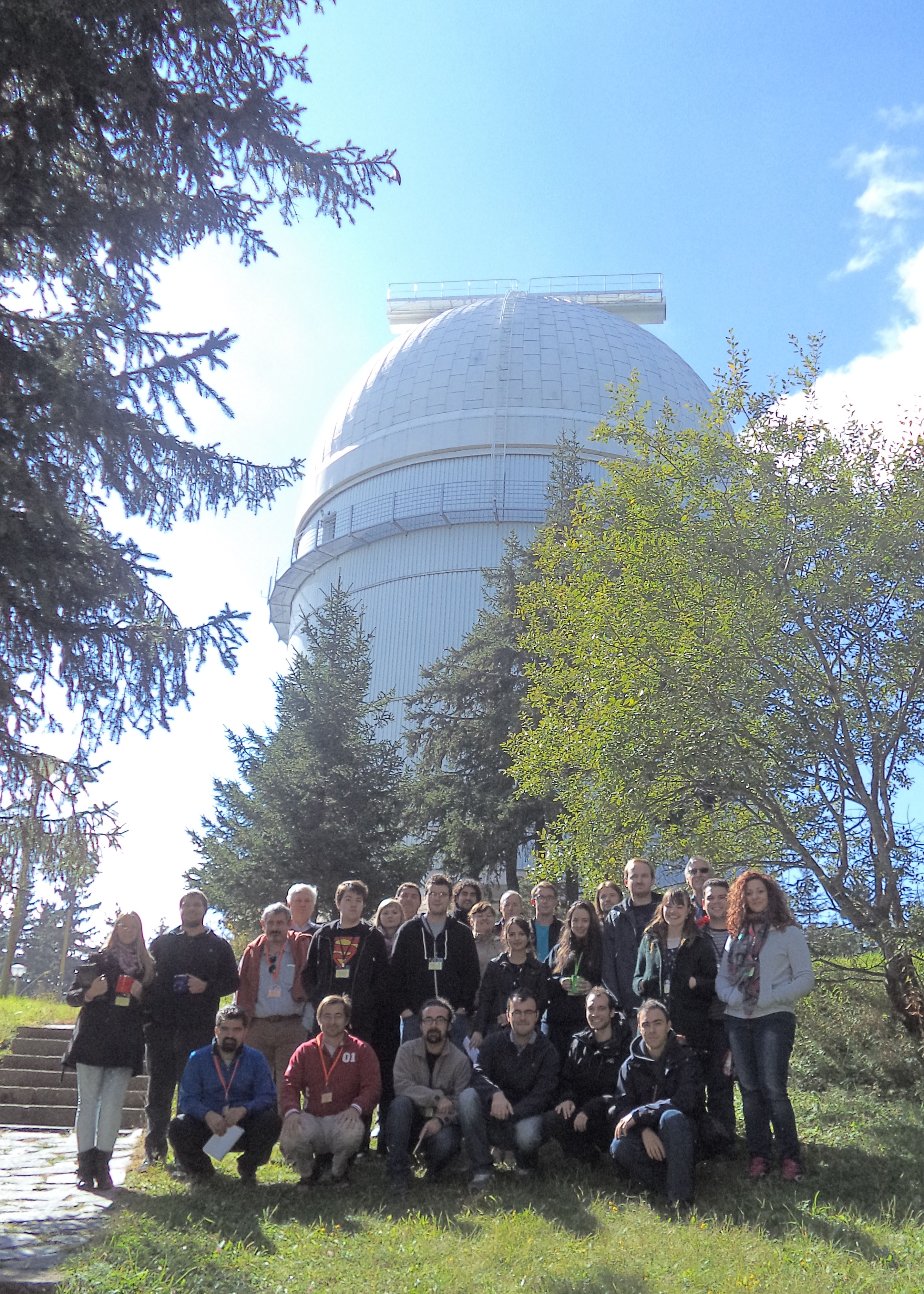 Astronomers at Rohzen